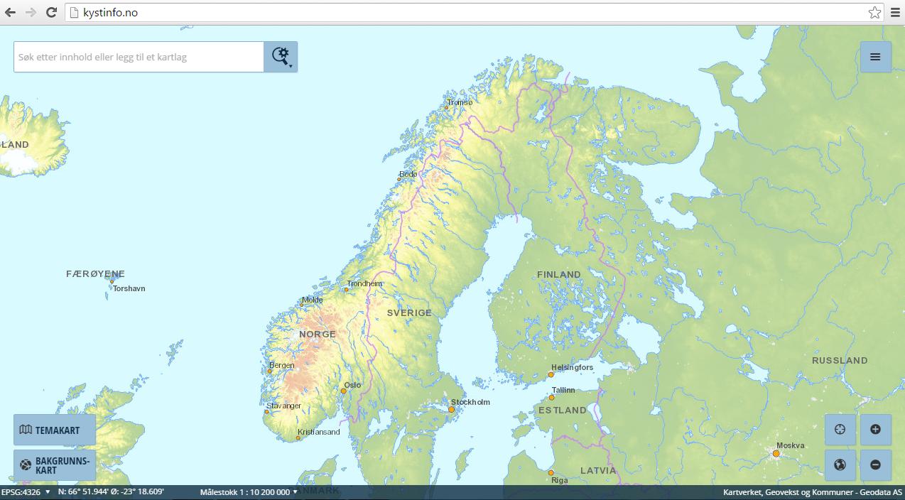 kart kyst Søk   Kartkatalogen kart kyst